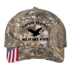 Military Wife Life Camo Hat