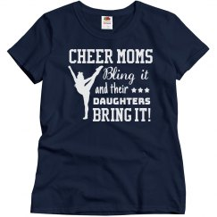 Cheer Mom's Bling It