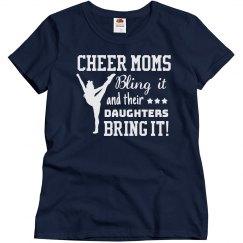 Cheer Mom's Bling It