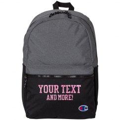 Custom Glitter Text Sports Pack