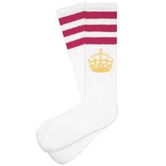 Fleur De Lis Socks
