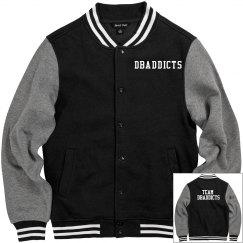 Team Dbaddicts letterman jacket