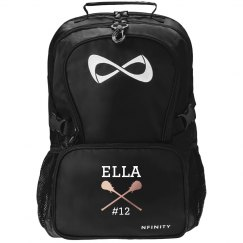 Custom Lax Girl Backpack