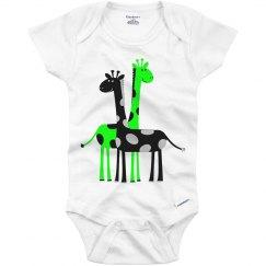 Cute Giraffe's Romper