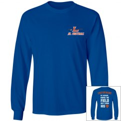 Coach's wives fun long sleeve t-shirt!