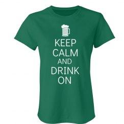 Keep Calm & Drink On