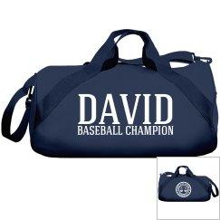 David, Baseball Champ