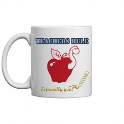 Teachers Rule Mug