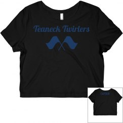 Twirler Captain's Cropped Top