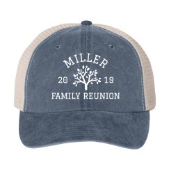 Custom Group Family Reunion Twill Hats