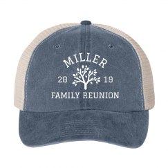Custom Group Family Reunion Twill Hats