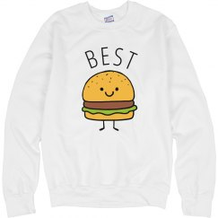Cute Cheeseburger Best Friends