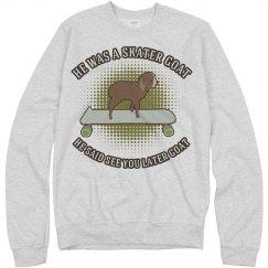 Sk8er Goat for the Winter