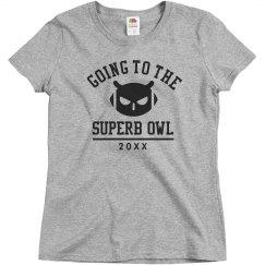 Customizable Superb Owl