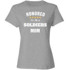 Honored to be soldiers mom