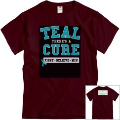 Teal Cure-Mens