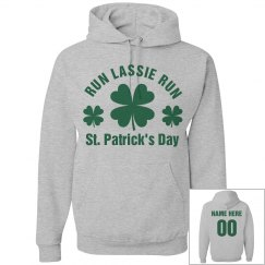 St Patricks Day Run Custom Name