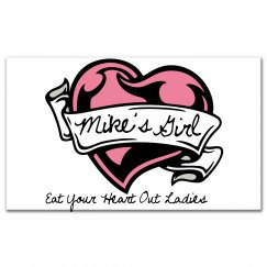Mike's Girl Sticker