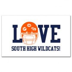 Love Wildcats Football
