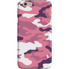 Pink Camo Phone Case