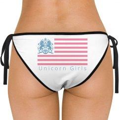 Americana Bikini Bottom