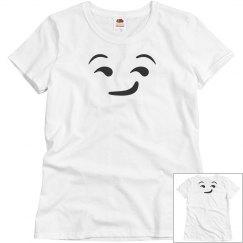 emoji face tee
