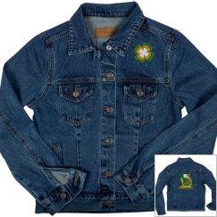 Lucky Shamrock, Denim Jacket