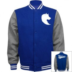 Basic wolves men's jacket.