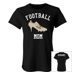 High Heel Football Mom