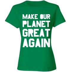 Go Green Make Earth Great Again