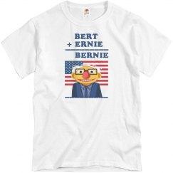 Bernie, Bert, and Ernie