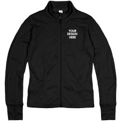 Custom School Text Athletic Jacket