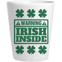 Irish Whiskey Inside St Pat Shot