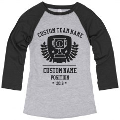 Custom Soccer Trophy Shirt