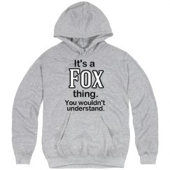 Its a Fox thing