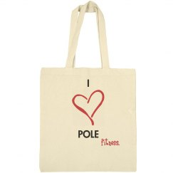 I Heart Pole Bag