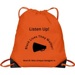 Mud-di Red Drawstring Bag