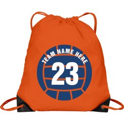 Personalized Volleyball Back Pack