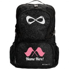 Custom Color Guard Girl's Nfinity Sparkle Backpack