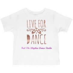 Toddler Metallic Live for Dance