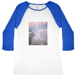 Distressed surf jersey