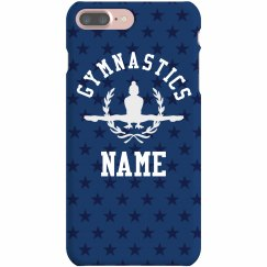 Gymnastics Custom Name Stars