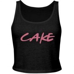Cake Pink Black