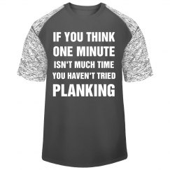 Planking is Pain Sport Tee