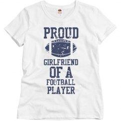 Proud Football Girlfriend