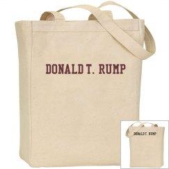 T. Rump, Canvas Bag