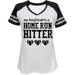 Home Run Hitter Boyfriend Shirt