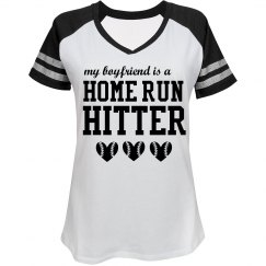 Home Run Hitter Boyfriend Shirt