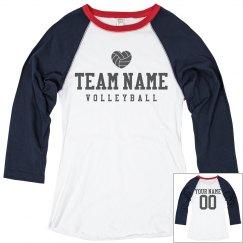 Custom Girls Volleyball Jerseys
