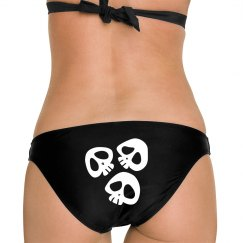 Bikini Bottom Skeleton Swimsuit
